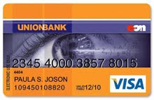 Unionbank EON Debit Card